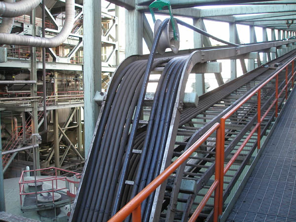 Cholla Power Plant Cable Tray And Structural Steel