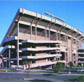 Arizona Wildcates Stadium - East